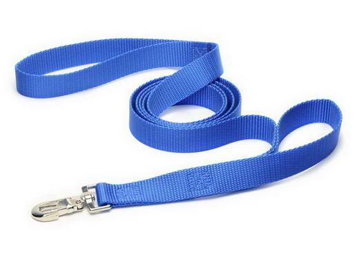Royal Blue Dual Handle Dog Leash