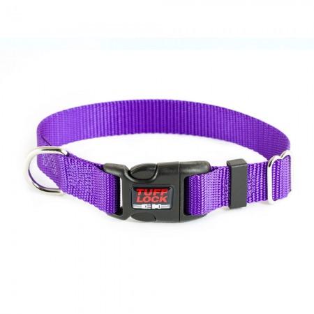 Premium TuffLock - Plastic Buckle Dog Collar - 04001.VIOLET.MAIN_resize