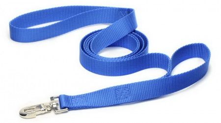 Royal Blue Dual Handle Dog Leash
