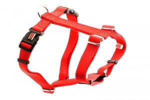 Premium Tuff Lock Cat Harness - red_figure-h_harness