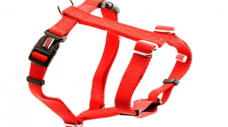 Premium Tuff Lock Cat Harness - red_figure-h_harness